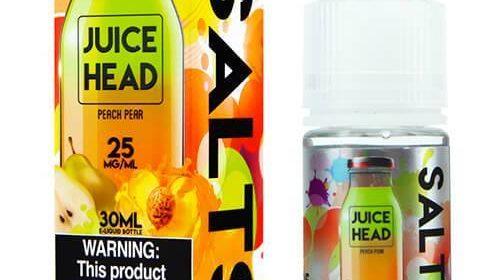 Juice Head Salts Peach Pear E-juice Review